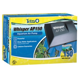 Our Whisper 150 and 300 aquarium air pumps are our most powerful yet!
