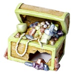 GloFish® Ornaments - Treasure Chest Small