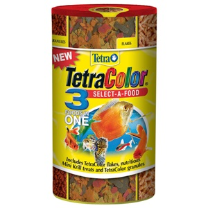 TetraColor Select A Food