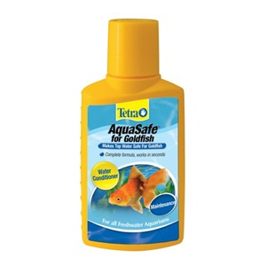 AquaSafe Water Conditioner for Goldfish.