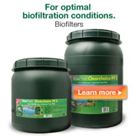 TetraPond BioFilters for optimal pond biofiltration.