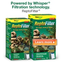 Tetrafauna ReptoFilter – Powered by Whisper technology.