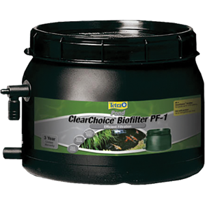 Clearchoice biofilter tetra aquarium for Biofilter for fish pond