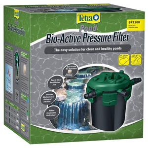 TetraPond BioActive pressure pond filters