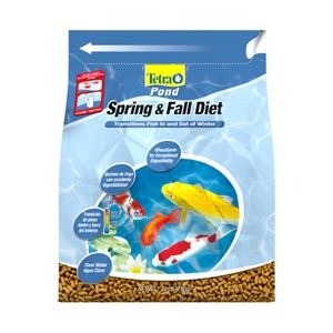 TetraPond Spring and Fall Diet Pond food bag