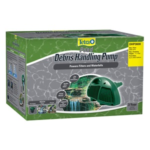 TetraPond Debris Handling Pump for waterfalls and filters
