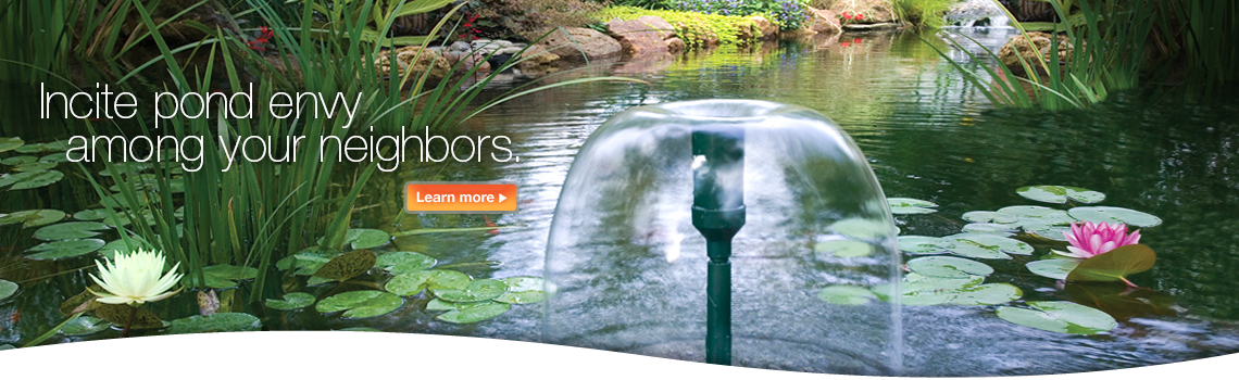 TetraPond. Incite pond envy among your neighbors.