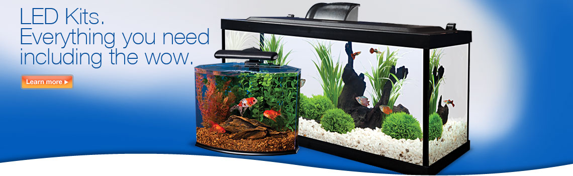 LED Aquarium Kits.  Everything you need including the wow.